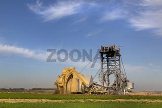 Braunkohletagebau Garzweiler, Nordrhein-Westfalen, Deutschland, Europa