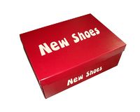 new shoes box