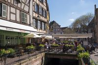 Colmar, Catering businesses on the Grand Rue