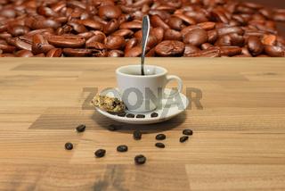 Kaffee und Keks