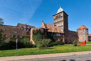 Burgtor, Lübeck, Deutschland