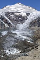 Pasterze Glacier, Hohe Tauern mountain range, Austria, Europe