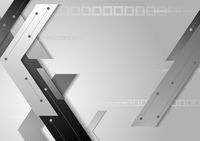 Tech grey corporate background