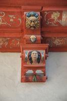 Grotesque figures in Oehringen, Germany