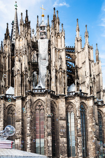 soapbubbles and Cologne Cathedral