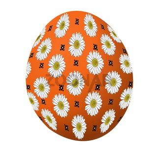 Osterei orange