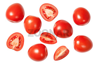 Falling Plum Tomatoes