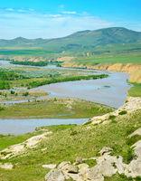 Georgian country landscape