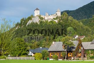 Castle of Sankt Gallen in Styria, Austria