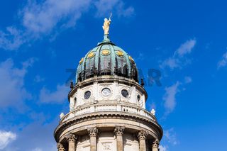 top of French Cathedral in Berlin