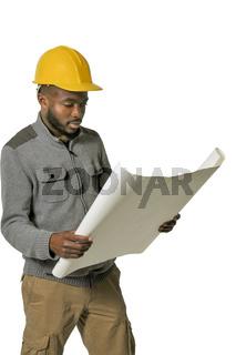 Black Construction Worker
