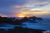 Sundown at Mostairos coast, Azores, Portugal