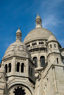 Türme von Sacre Coeur, Paris