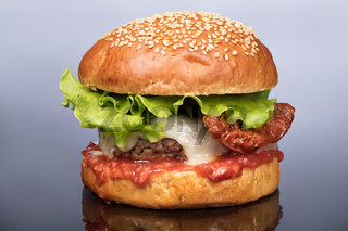 Burger With Vegetables