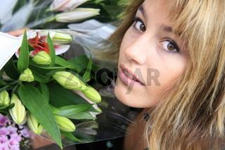 Blumenüberraschung
