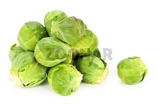 Isolated brussels sprouts