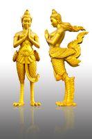 kinnaree is thai angle, a mythology figure
