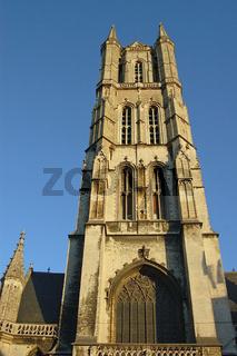 st. baafskathedraal in gent, belgien