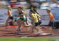 Middle-distance running - Girls
