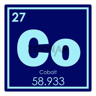 Cobalt chemical element