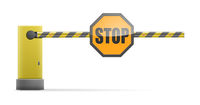 Closed Barrier Stop