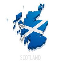 3D map Scotland