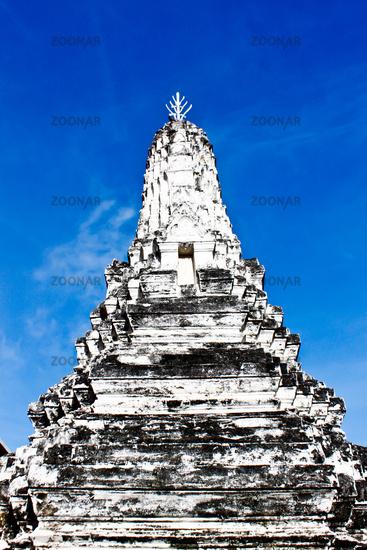 Pagoda Temple Ayutthaya Phananchoeng
