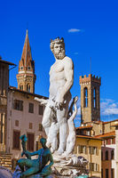 Monument in Florence - Italy