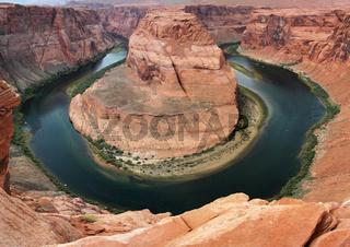 Horseshoe Bend bei Page, Arizona, USA