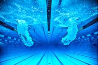 jump in a pool
