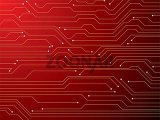 circuit board red
