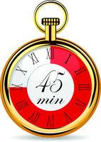 mechanical watch timer 45 minutes