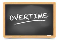 Blackboard Concept Overtime
