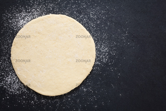 Rolled Out Pizza Dough