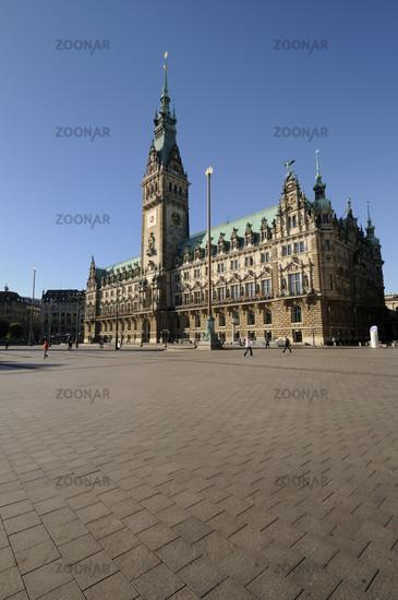 Hamburg, Germany, Town Hall