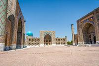 Registan mausoleum, Samarkand, Uzbekistan