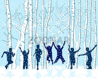 Kids im Schnee.eps