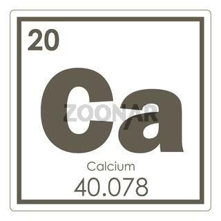 Calcium chemical element