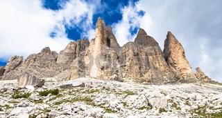 Landmark of Dolomites - Tre Cime di Lavaredo