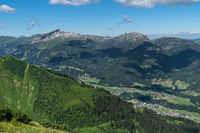 Kleinwalservalley and Mt. Hoher Ifen