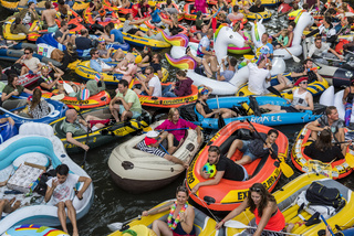 Rubber Boat Mission in Canals of Utrecht,  Netherlands
