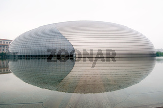 BEIJING - JULY 19: The China National Grand Theatre (National Centre for the Performing Arts) or the Egg