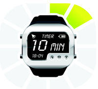 digital watch timer 10 minutes