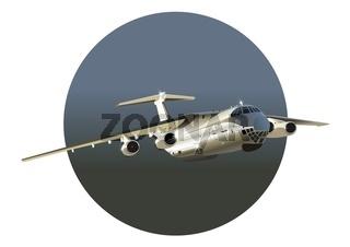 Frachtflugzeug