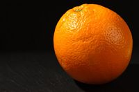 Leuchtende Orange