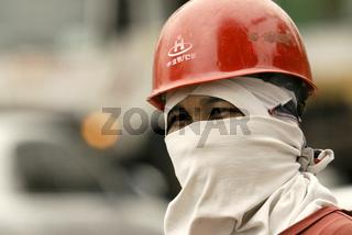 Hitze Smog Verkehr - hotness smog traffic - Seoul