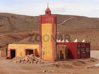Moschee im marokkanischen Dorf Aouli
