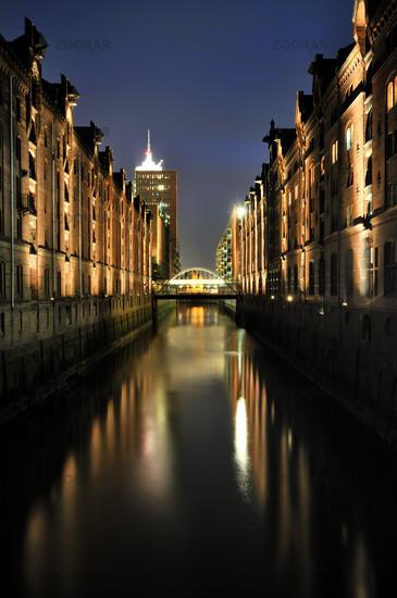 Hamburg, Germany, Warehouse District
