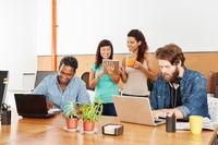 Startup Team im Computer Wokshop