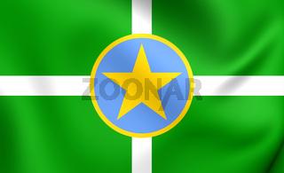 Flag of Jackson, USA.